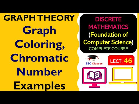 Graph Coloring, Chromatic Number with Solved Examples - Graph Theory Classes in Hindi
