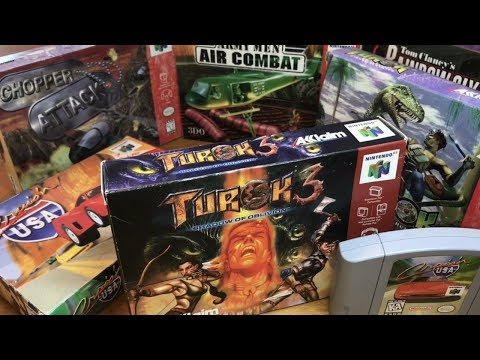 COMPLETE N64 COLLECTION! TUROKS, HELICOPTERS AND CARS, OH MY!! #12