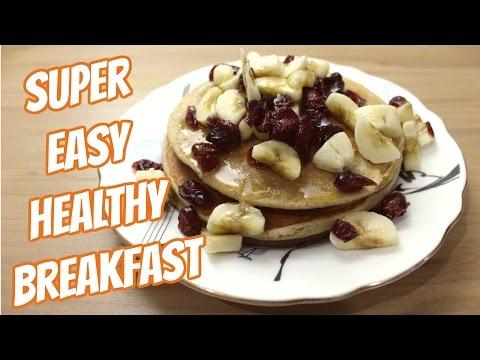 Oatmeal Banana Pancakes   Healthy and easy recipe   Sugarfree Breakfast recipe