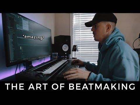 THE ART OF BEAT MAKING. *amazing* | Making a Beat FL Studio