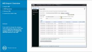 Mib Import.tool - Dell Openmanage Essentials