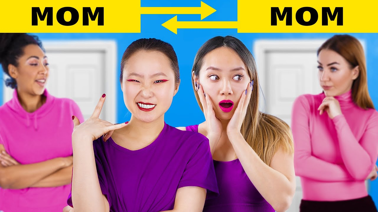 We Switched Moms/ 20 Funny Situations