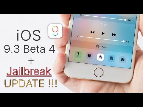 iOS 9.3 Beta 4 + Jailbreak Update