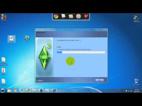 Installing The Sims 3 (full) pc