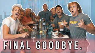 THE BOYS ARE BACK... our FINAL goodbye.