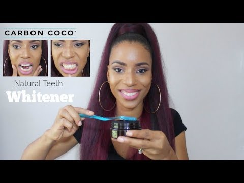 Carbon Coco Teeth Whitener Demo & Review