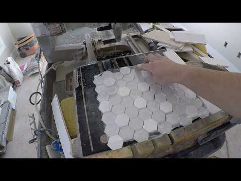 HOW TO CUT GLASS MOSAIC TILE WITHOUT CHIPPING THE EASY & QUICK WAY