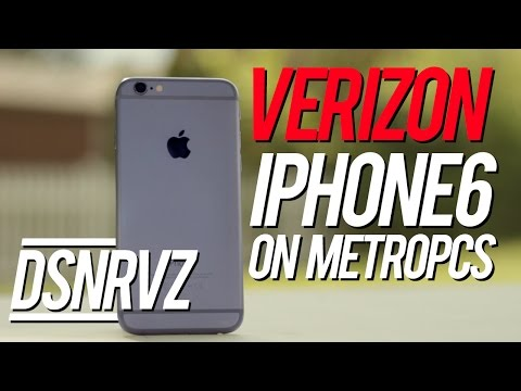 Using a Verizon iPhone 6 on metroPCS!