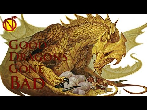 When Good D&D Dragons Go Bad| Dungeons and Dragons Monsters