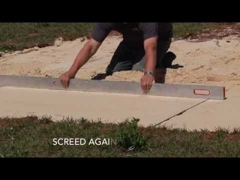 LAYING TILE PAVERS OUTSIDE, ON SAND