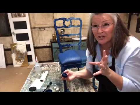 Learn how Painting Fabric changes everything with Dixie Belle Paint!