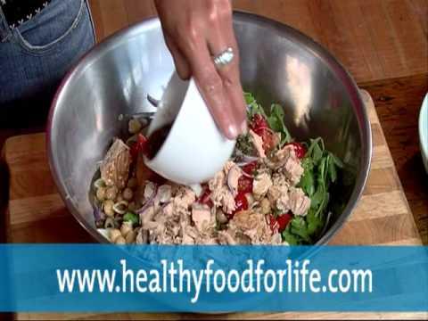 Diabetes: Salmon Pasta Salad