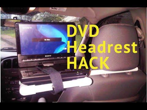 $4 DIY DVD Player Head Rest RES Hack