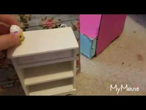 Making a doll unicorn bedroom/Nikki tube