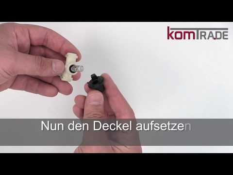 Miele CM5xxx Auslaufventil reparieren-revidieren-überholen Reparaturanleitung