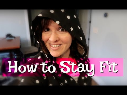How do I stay fit? A week in the life VLOG