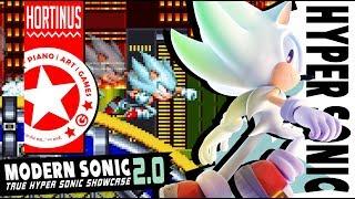 true hyper sonic showcase sonic mania 1080p 60 fps