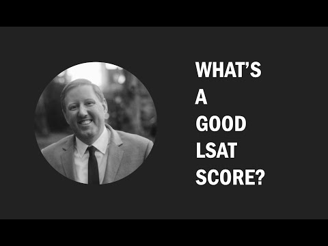 Law School Admissions: What's a good | bad | perfect LSAT score?