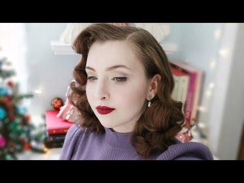 Mid-Century Hair & Makeup Routine / Tutorial