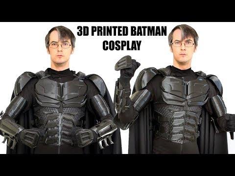 3D Printed Batman Cosplay Suit #3 with Ninjaflex   XRobots