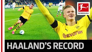 Erling Haaland's Record | 5 Goals in 56 Minutes for Dortmund