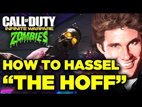 How To Get David Hasselhoff In Call Of Duty Infinite Warfare Zombie M