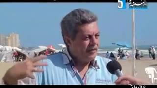 تلفزيون الاسكندرية برنامج على الرملة يستضيف الكاتب الصحفى الكبير عصام الجميل