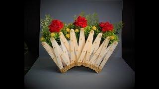 ice+cream+stick+flower+vase Videos - 9tube.tv on ice cream sticks lamps, ice cream sticks crafts, ice cream sticks chair,