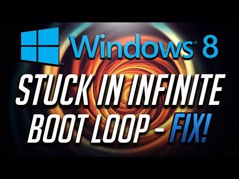 How to Fix Windows 8 Stuck in Infinite Boot Loop -  [2019 Tutorial]