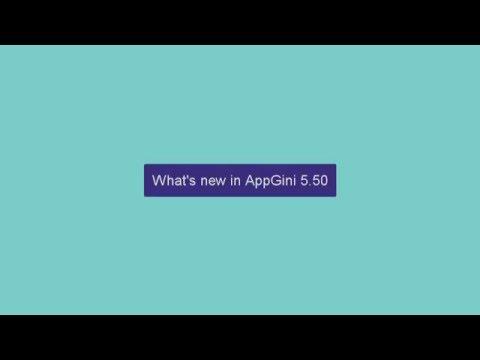 What's new in AppGini 5.50