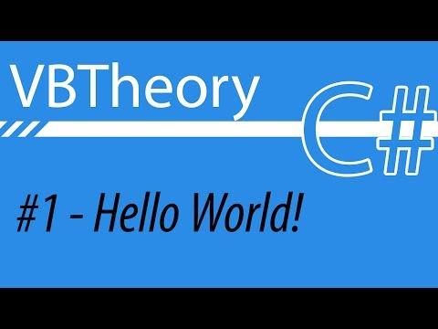 Hello World - CSharp #1