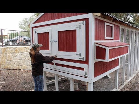 Building A Chicken Coop - Part 3
