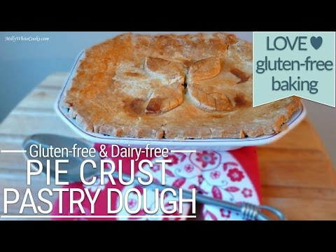 How to Make Gluten Free Pie Crust Pastry Dough | Gluten free Dairy Free | Easy Step-by-Step Recipe