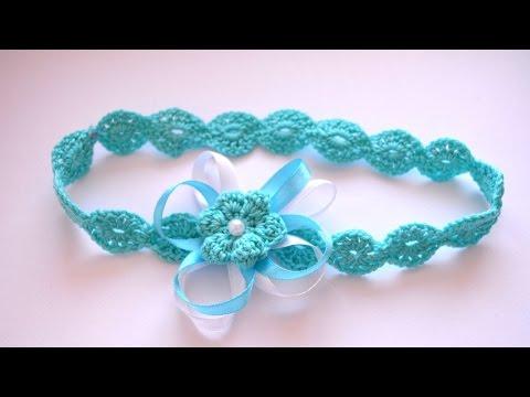 Crochet a Pretty Headband for Newborns - DIY Crafts - Guidecentral