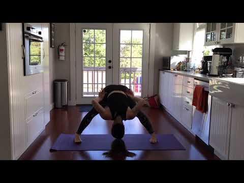 Yoga Break, Sept 2017 -Inversions - Headstand & Handstand practice