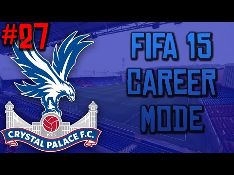 FIFA 15 Career Mode: Crystal Palace - Episode 027 - ENGLAND OFFER