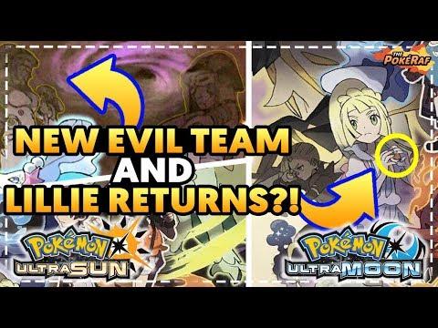 NEW EVIL TEAM AND LILLIE RETURNS AS A TRAINER?! - Pokémon Ultra Sun and Ultra Moon