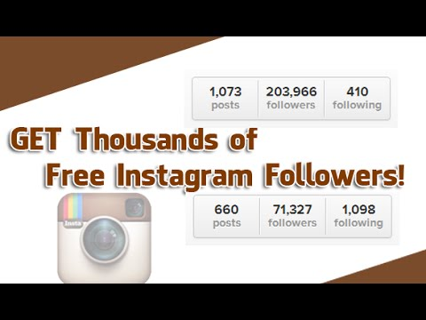 How to get lots of active followers on Instagram (2014)