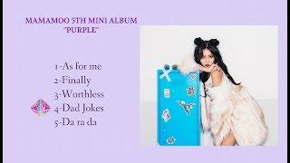 Mamamoo 마마무 Purple 5th Mini Album Full Download Links