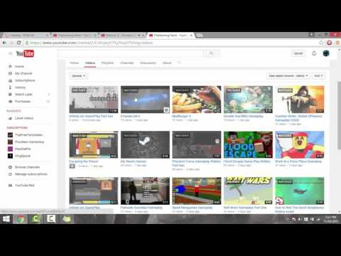 How to put your videos on your Youtube Homepage! 2016