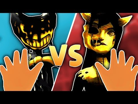 BABY & BENDY TEAM UP TO BATTLE ALICE ANGEL! | Baby Hands VR (Lets Play New Update HTC Vive Gameplay)