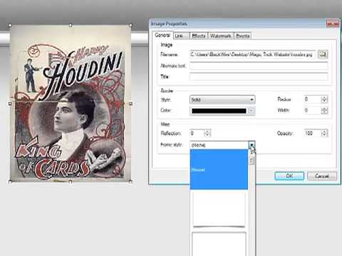 How to Change the Size of an Image how to make a website 90 second website builder software
