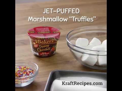 JET-PUFFED Marshmallow 'Truffles'