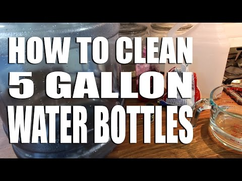 How to Clean 5 Gallon Refillable Water Bottles
