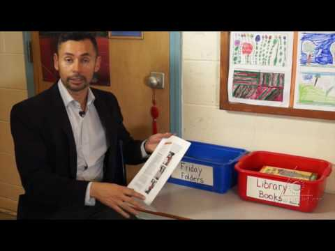 Classroom News: Strengthening the Home-School Connection (Virtual Tour)