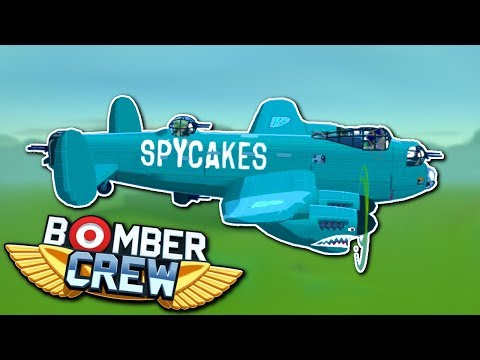 Raiding Airfields & Fighter Battle! - Bomber Crew Gameplay - Steam Early Access Gameplay