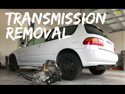 D15B8 Transmission Removal Project EG
