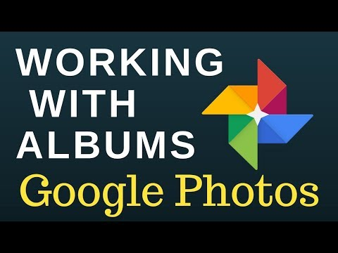 Working with albums in Google Photos