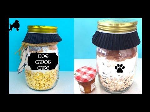 How to make Mason Jar Cake - Pupcake Dog Cupcake Gift - DIY Dog Food by Cooking For Dogs