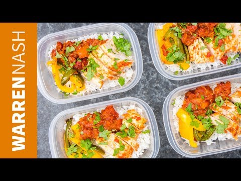 Chipotle Chicken Meal Prep Recipe - High Protein / JUST 3g fat - Recipes by Warren Nash